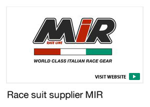Race suit supplier MIR